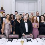 Pure Law staff group image at the Langham hotel - London