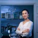 Portrait session with Chinese business lady based in London.