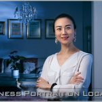 Business lady of Chinese descent photographed at her London's flat