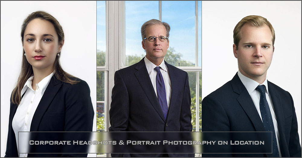 How to manage large Corporate headshot and portrait photo shoot on location