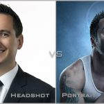 Comparing a headshot photograph against the conventional portrait style of photography, defining what are the differences setting the two styles apart