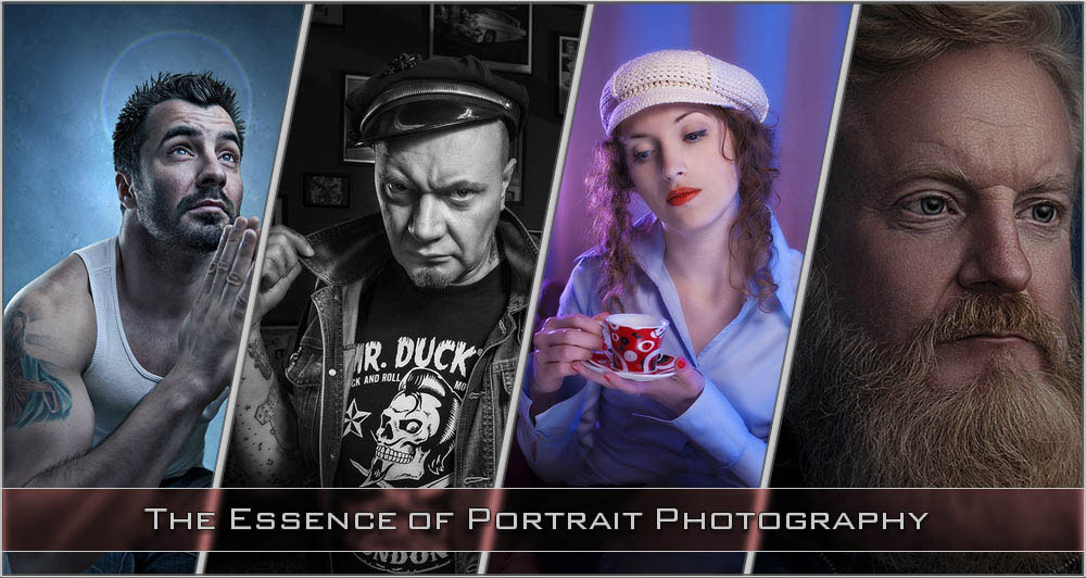 Portrait photography - a selection of portraits illustrating what portrait photography is